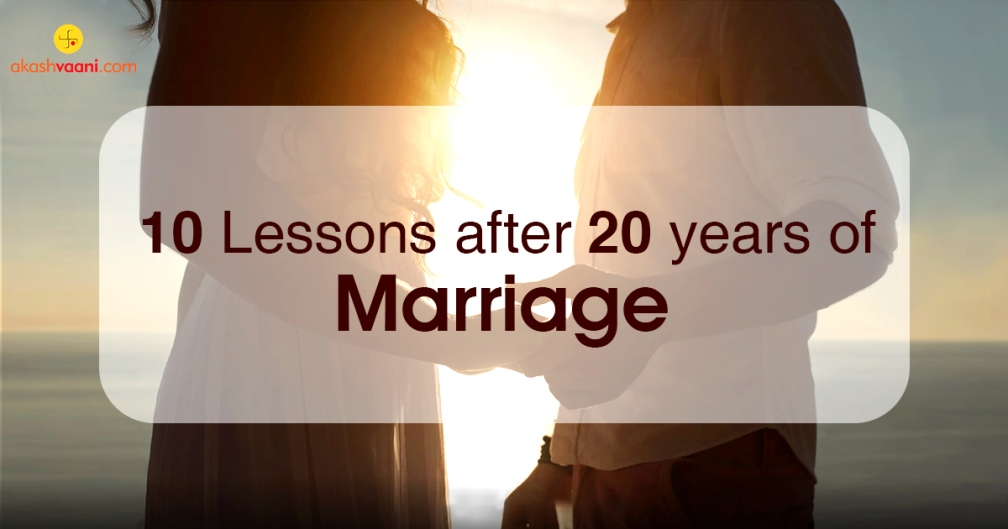 Lessons After 20 Years of Marriage Life